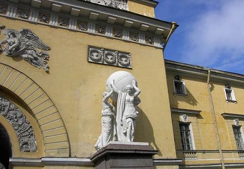 Здание Главного Адмиралтейства, Петербург (1806-1823). Архитектор А. Захаров