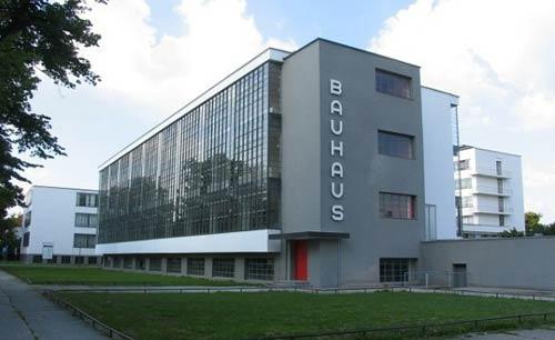 Здание «Баухауса» в Дессау (Bauhaus, Dessau)