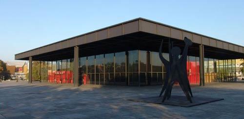 Mies Van Der Rohe. Neue National Galerie, Berlin, 1968