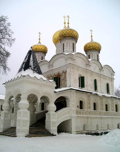 Троицкий собор Ипатьевского монастыря. Кострома