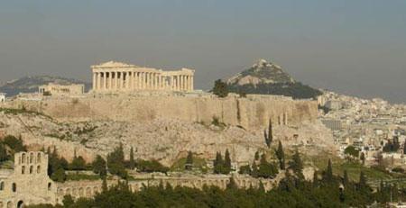 Афинский Акрополь. Общий вид