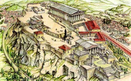 Реконструкция Акрополя