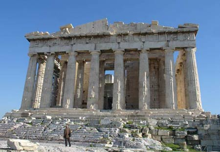 Парфенон. Афинский Акрополь