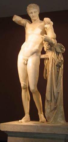 Гермес. Римская копия скульптуры Праксителя