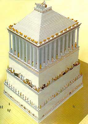 Реконструкция гробницы Мавсола