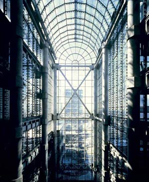 Lloyd's of London, архитектор  Ричард Роджерс (Richard Rogers) 1978 - 1986