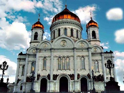 Храм Христа Спасителя в Москве, уничтожен в 1931 г.