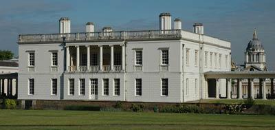 Куинс-хаус (Queen's House - Дом королевы, 1616—1636 годы) в Гринвиче. Архитектор Иниго Джонс (Inigo Jones)