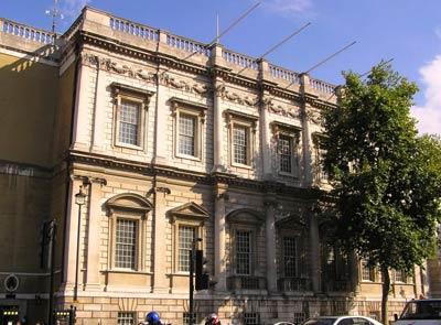 Банкетинг-хаус в Лондоне (Banqueting House - Банкетный зал, 1619— 1622 годы).Архитектор Иниго Джонс (Inigo Jones)