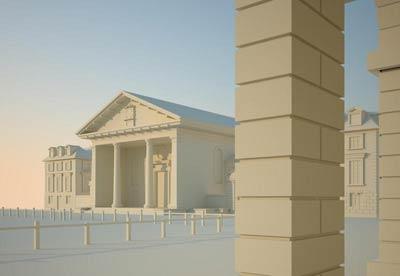 Площадь Ковент-Гарден (Covent Garden), реконструкция проекта Иниго Джонса (Inigo Jones)