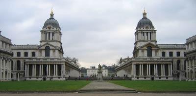 Greenwich Hospital. Архитектор Кристофер Рен(Christopher Wren)