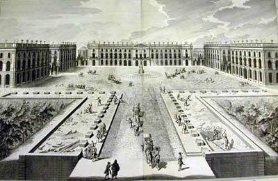 Королевская площадь в Нанси (Place Royalle de Nancy,1722- 1755 гг.)