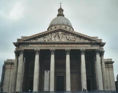 Церковь св. Женевьевы, Париж. Проект Жака Жермена Суфло (Jacques-Germain Soufflot)