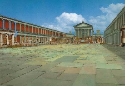 Реконструкция храма Юпитера на Капитолийском холме