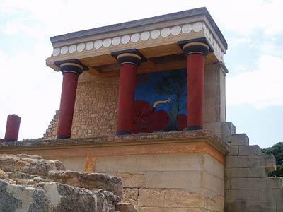 Дворец в Кноссе. Крит