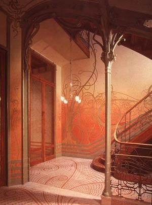Отель Тассель, Брюссель. Архитектор Виктор Орта