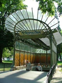 Оформление станций парижского метро. Эктор Гемар