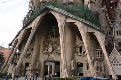 Собор Святого Семейства (Саграда Фамилия), Барселона, архитектор Антонио Гауди