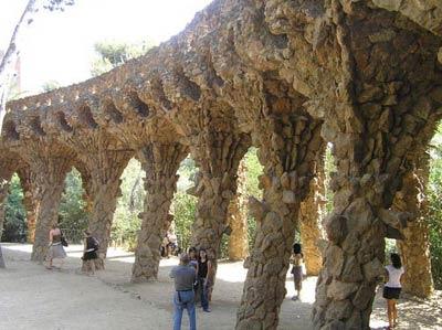 Парк Гуэль, Барселона, архитектор Антонио Гауди