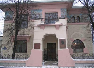 Особняк С. Рябушинского, Москва. Архитектор Ф.О. Шехтель