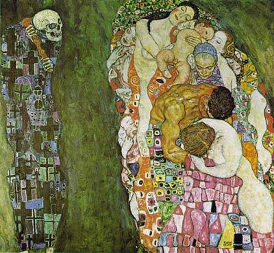 Жизнь и Смерть. Густав Климт, 1910 год