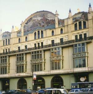 «Принцесса Грёза» М.А. Врубель. Панно на фасаде гостиницы «Метрополь». Москва.