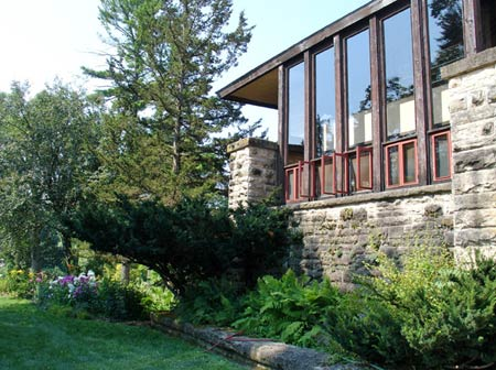 Hillside Home School, 1902, Taliesin, Spring Green, Wisconsin. Фрэнк Ллойд Райт (Frank Lloyd Wright)