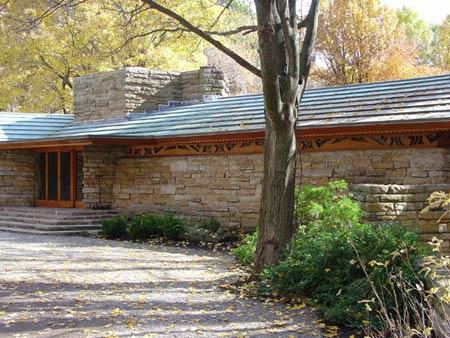 Kentuck Knob,Usonian home.50-е.гг. Фрэнк Ллойд Райт (Frank Lloyd Wright)