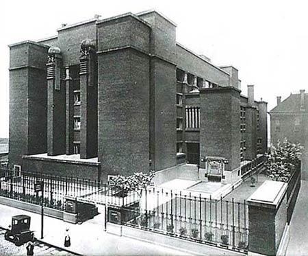 Larkin administration building. 1904 г. Фрэнк Ллойд Райт (Frank Lloyd Wright)