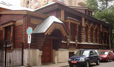 Особняк Пороховщикова, Москва. Архитектор А.Л.Гун, 1872 год.