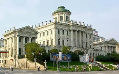 Дом Пашкова. Петербург. Архитектор В.И. Баженов