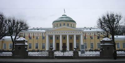 Таврический дворец.(1883-1789 гг.). Архитектор И.Е. Старов