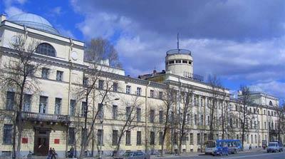 Здание Морского кадетского корпуса(1796-1798 гг.), Петербург. Архитектор Ф.И. Волков