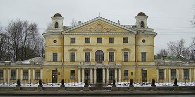 Дача А.А.Безбородко (1783-1788 гг.) Архитектор Джакомо Кваренги