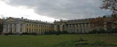 Александровский дворец (1792-1796 гг.) в Царском селе. Архитектор Джакомо Кваренги