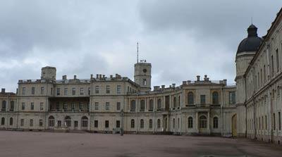 Дворец в Гатчине (1766-1781 гг.) В.Ф.Бренн