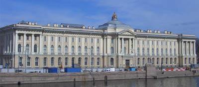 Здание Академии художеств (1764-1788 гг.)
