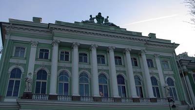 Северный фасад Малого Эрмитажа
