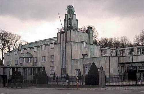 Дом Стоклё, Брюссель. Архитектор Йозеф Хоффманн. Palacio Stoclet Volkswohnhaus