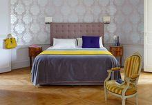 Спальня в стиле современного шале