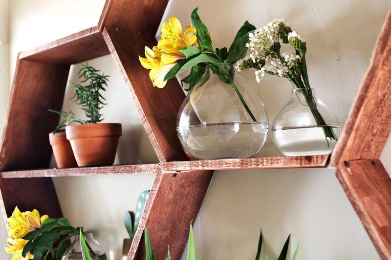 Сотовые Полки для цветов