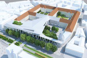 Проект музейного комплекса в Будапеште