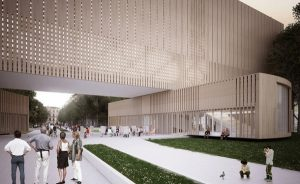 Проект здания музея трансформер