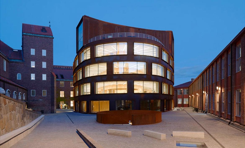 Школа архитектуры в Стокгольме