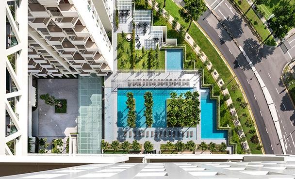 Жилой комплекс с вертикальными садами