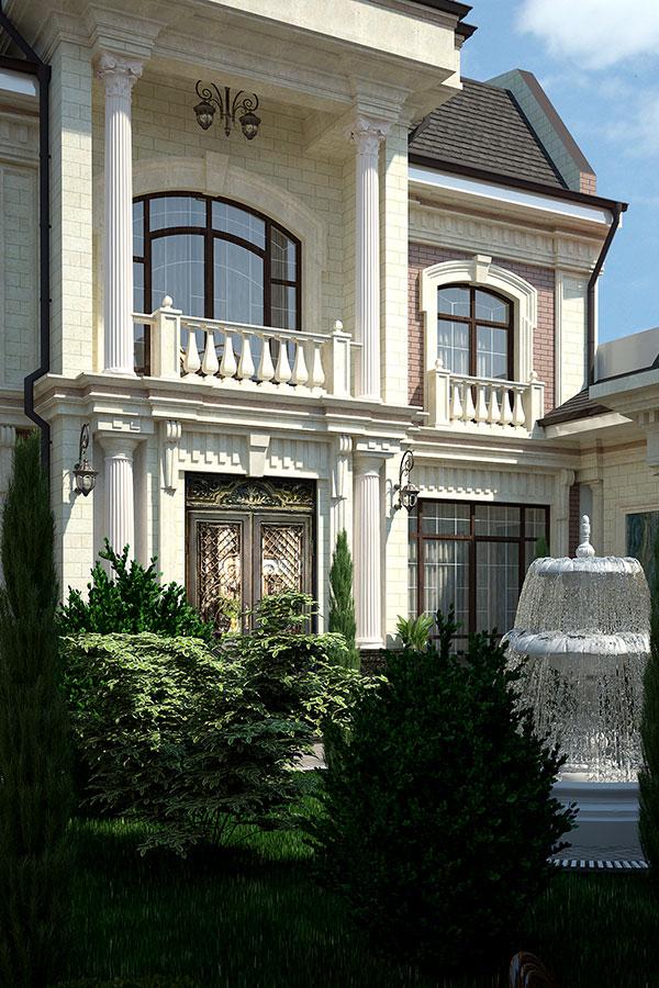 Проектирование частных домов в Узбекистане SDS PROEKT