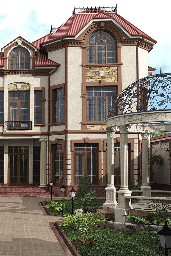 Проектирование частных домов Узбекистане SDS