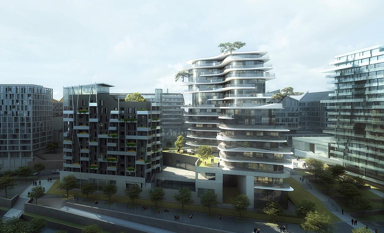 Проект жилого комплекса UNIC в Париже