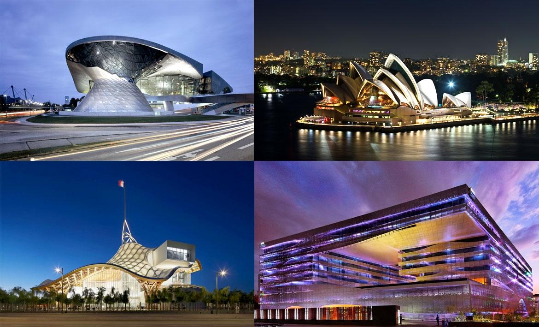 Фантастика современной архитектуры