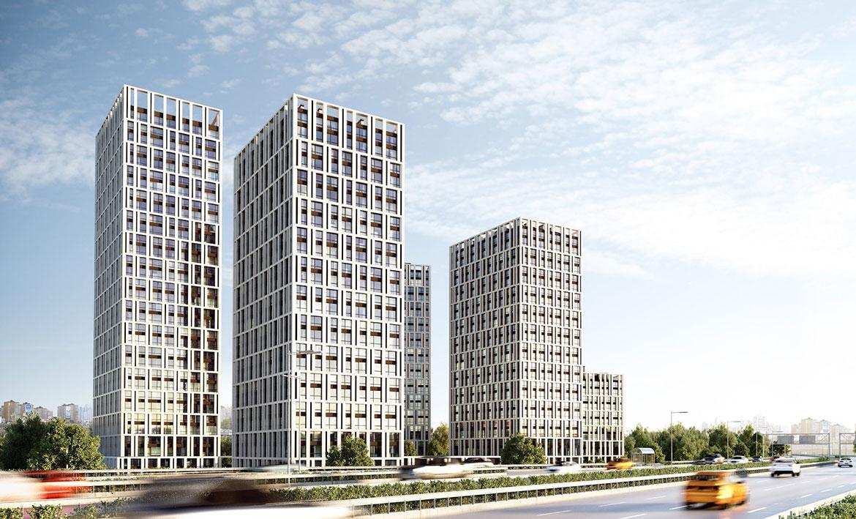Жилой комплекс в Киеве - «Славутич»